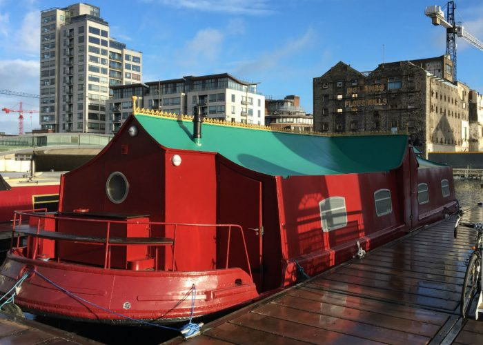 Massage on a Barge Dublin - Thai Massge at Dublin's Docklands